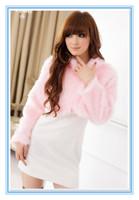 FREE SHIPPING 2013 fur coat wool fur wedding dress shawl bridesmaid dress short design long-sleeve women's short design