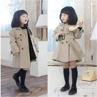 Куртка для девочек New 2014 children's spring autumn cotton outerwear baby CC0623 cartoon lace baby girl cardigan kids tops