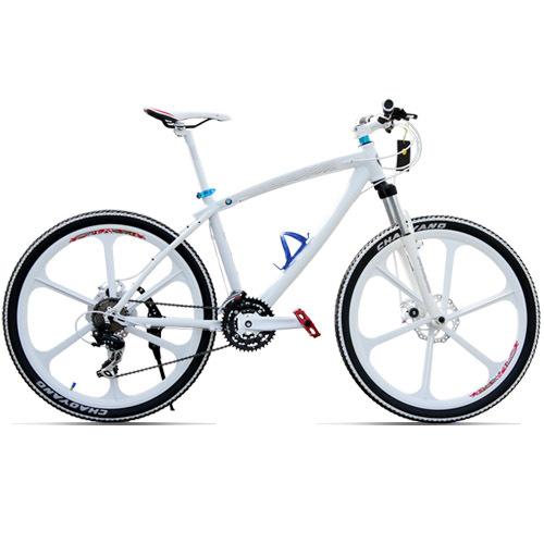 Bicycle triumph mountain bike mountain bike one piece wheel bicycle double disc