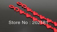 Free shipping Italy lace bracelet Hot Selling 100% Good Quality Fashion Italy heart style Lace Bracelet