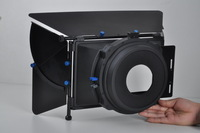 Free shipping! Wholesale ProII Matte Box f 15mm Rail Rod Rig Follow Focus DV DSLR 5DII 7D