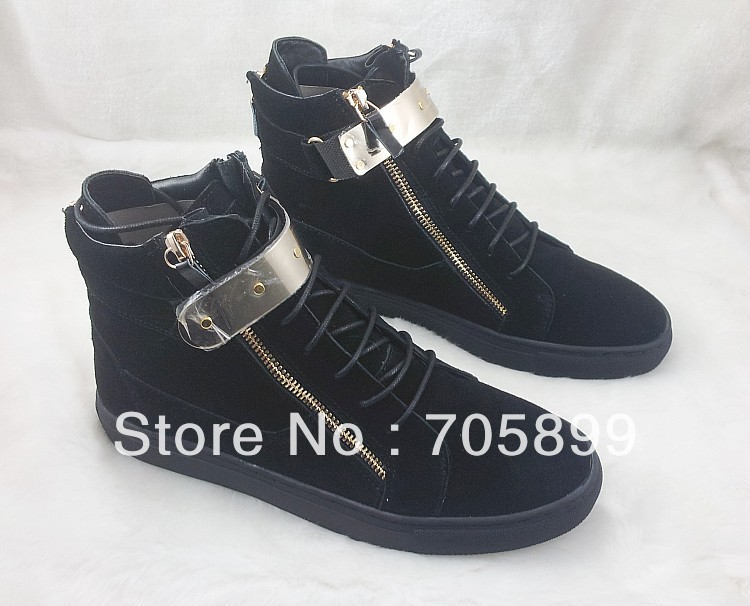 Free Shipping New Red Bottom Shoes Lace Up Mens Sneakers Suede