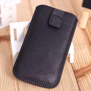 For samsung   i9300 i9500 pull bag s3 s4 i9250 cell phone pocket bag protective mobile phone case leather case