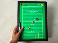 Football tactical folder wallet type sand table magnetic tactics board football tactics board