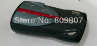 Cobra XRS 9880 Digital Radar Laser Detector Show the frequency of radar device.Support Russian or English