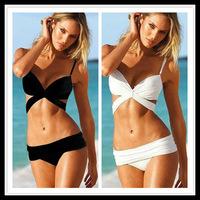 Women 2013 Hot Set Push Up Bathing Suit Padded Cheap Swimwear Swimsuit Bikini Set