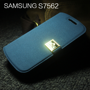 For samsung   gt-s7562 mobile phone case 7562 around open holsteins slammed protection case mobile phone case card
