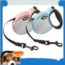 30-50kgs! Pet training flexible leash, DELE 3/4/5 meters harness, dog chain(China (Mainland))