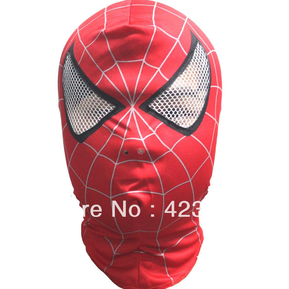 Как сшить маску человек паук 2