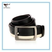 100% Genuine Leather Pin Buckle Strap Free Size Cowhide Split Leather Men Waist Trouser Belt Alloy Buckle 1.1-1.25M 7A226172000