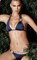 2014 fashion high quality brand design sexy women's bikini bandage lingerie swimwear for women beach wear dark blue size s m