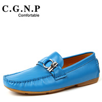 2013 gommini male fashion loafers genuine leather breathable fashion shoes casual boat shoes