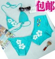 Spa trunk push up small ab cup bikini swimwear