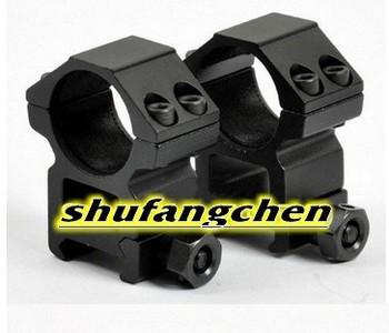 High Profile 1 inch Scope Rings for Weaver 20mm rail (RGWM-25H4)