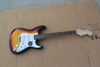 2013 New Arrival Factory Price F Stratocaster Custom Sunburst Electric Guitar In Stock !! Free Shipping