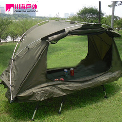 Outdoor tent single multifunctional fishing tent quality aluminum car rod camping tent(China (Mainland))