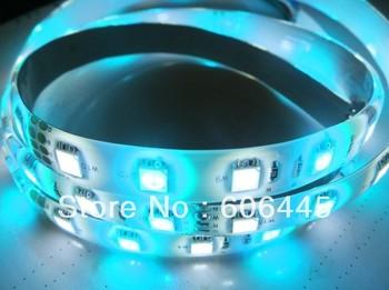 Free Shipping 12V 60leds/m RGB+W SMD 5050 RGBW LED Strip