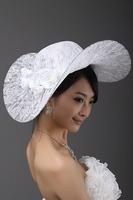 lace hats wedding  hat bride