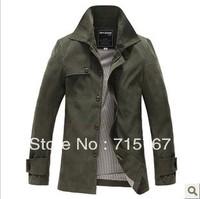 Men's cotton jacket collar temperament  Korean Slim dress Men's  jacket