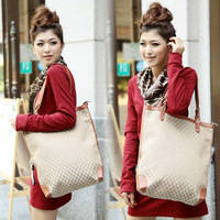 Free/drop shipping, 2013 women's bag fashion vintage women's handbag plaid bag shoulder bag
