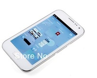 "Cheapest 5"" capacitive screen i7100 android 4.1 smart phone MTK6515 512MB RAM7100 dual sim dual Cameras TV WIFI FREE SHIP"