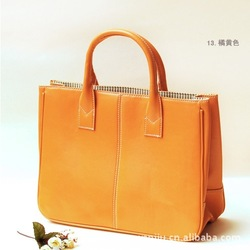 2013 Hot Sale Fashion Elegant Women Bag Lady PU Leather Shoulder Bags Girl Leisure Handbags(China (Mainland))