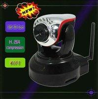 Neueste Modell! Wansview H.264 Megapixel Wireless WiFi IP Kamera Audio IR CUT P / T Webcam