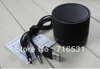 Wireless Bluetooth Portable Mini Speaker + Handsfree mobile phone +card  back color free ship