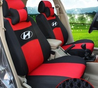 red tan grey  Color car seat covers For Hyundai sonata elantra ACCENT Azera SantaFe