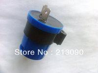 6V 12V 2 Pin Motorcycle Motorbike Flasher Relay Turn Signal Indicator w/ Beeper Free shipping