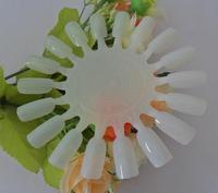 10x Nail Art Tips Make Up Practice Round Wheel Polish Acrylic Display Decoration FREE SHIPPING