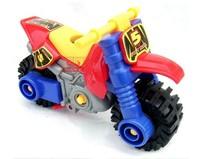 Motorcycle baby educational toys diy assembling