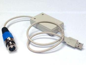 DMX512 USB to DMX Interface Adapter Computer Satge Lighting Controller