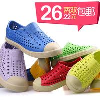 Double hole 2 coqui child shoes mules male female child sandals jafferson 's summer