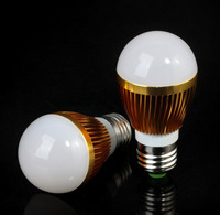 Retail Dimmable Bubble Ball Bulb AC85-265V 9W/12W/15W E14 E27 B22 GU10 High power Globe light LED Light Free shipping