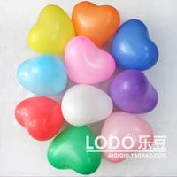 Wedding balloon thickening heart-shaped love heart 12 shaped standard 11