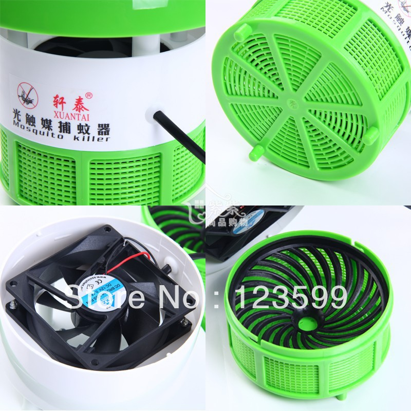 Sweep away the light mosquito killer mosquito led home / photocatalyst mosquito repellent lamp with / switch baby mosquito traps(China (Mainland))