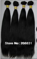 Top quality 4Pcs Lot  Mix length AAAAAA Brazilian Virgin Hair Straight Best Human Hair Weave Queen Hair Products  Free shipping