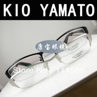 Free Shipping-Top Quality-Brand New Style Kio yamato 's top handmade - tomita - titanium optical glasses personality avant-garde