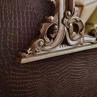 Free shipping Quality crocodile skin wallpaper plain solid color brief ktv tv backdrop wallpaper