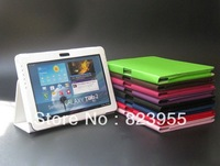 "Wholesale PU Leather Case FOR Samsung GALAXY Tab 2 P5100 P5110 P7510 10.1"" Tablet"