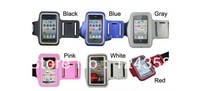 Wholesale Sports Running ArmBand Case for Apple iphone 4 4g , Solf Belt arm band For iphone5 , ipod touch .