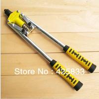 17 Inch Double Handle Riveter Nail Gun Heavy Hand Tool Manual Mandrels