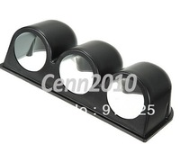 "52mm 2"" Universal 3 Triple Gauge Meter Holder Cup Dash Pillar Mount Pod Plastic      freeshipping"