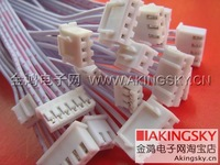Free Shipping 6 pin double signal cable 300 mm 6 p / 2.54 connecting line 30 cm XH