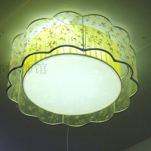 Lamps bedroom lamp ceiling light living room lights restaurant lamp modern brief circle rustic art light(China (Mainland))