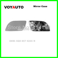 Auto Mirror Case  R:6q0 857 522c L:6q0 857 521c For V.W Polo3 1997-2001