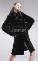 Женская одежда из меха QIUDU  QD28336