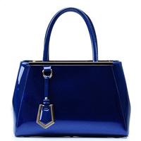 2013 women's japanned leather handbag fashion commercial PU handbag