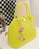 New arrival 2013 female fashion candy shell bag female bags spring and summer shell handbag jelly bag